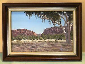 T.A.Cafarella Australian Landscape Framed Oil Painting