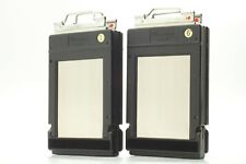 【Exc+5】 Mamiya RB67 Double Cut Film Plate Holder Type J 2set From Japan 771