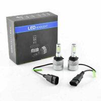 2X Auto Xenon Licht 9005/9006 COB LED Umbau Scheinwerfer Wasserdicht Weiß Lamp