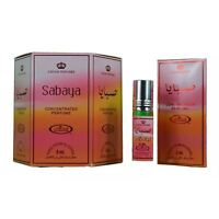 Genuine Al Rehab Sabaya 6 x 6ml Oil Perfume Fragrance Roll on Alcohol Free Halal