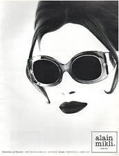 ▬► PUBLICITE ADVERTISING AD Lunettes eyewear Alain Mikli 1996