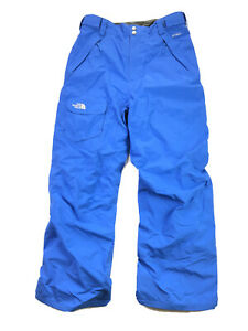 The North Face Freedom Insulated Ski Snowboard Pants Boys XL 18/20 Blue