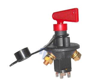 Batterietrennschalter 6-polig, Haupt-schalter, Stromkreisunterbrecher, Notaus