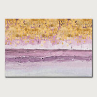Hand painted Abstract Landscape Picture  Oil paintings on Canvas  Home Decor Art