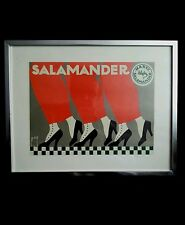 """Salamander shoes art print """"MARKE SALAMANDER"""""""