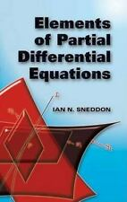 Dover Books on Mathematics: Elements of Partial Differential Equations by Ian...