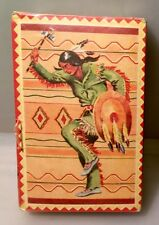 Vintage RARE Native American SEALED Deck Of Cards With Tax Stamp(1940)s