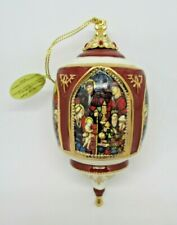 Miracles of Light Nativity Of Kindness Porcelain Ornament