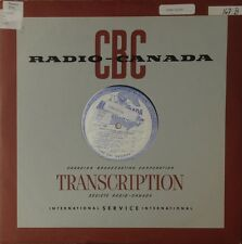 Gilbert Buck Lacombe-Jazz Ensemble-Radio Canada 168-RADIO TRANSCRIPTION