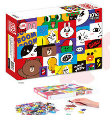 LINE Friends Mosaic Jigsaw Puzzle 1014 pcs Hobbyhorse Collection Puzzles Game