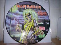 Iron Maiden Killers Picture Disc - Metallica Garage LP Vinyl -Fehlpressung - Box