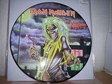 Iron Maiden Killers Picture Disc-Metallica Garage LP Vinyl-fehlpressung-Box