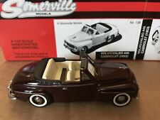 VERY RARE SOMERVILLE MODELS No 138 VOLVO 445 CABRIOLET 1953 MAROON NEW IN BOX