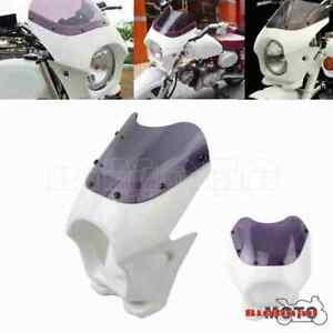 Motorcycle Front Headlight Fairing Cowl For Honda Kawasaki Suzuki Yamaha RZ50