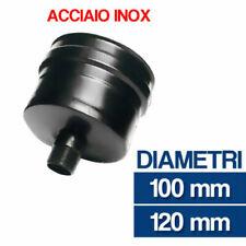 Pellet Rauchrohr DN 100 mm gris taulard Longueur 500 mm cheminée acier joint NEUF