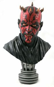 Star Wars Legends in 3D Darth Maul 1:2 Scale Bust -- LIMITED EDITION -- IN STOCK