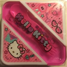 Hello Kitty Lunch Container :  lunch box with Fork and Spoon