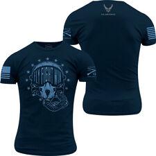 Grunt Style USAF - Fly, Fight, Win T-Shirt - Midnight Navy
