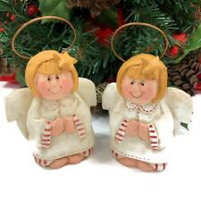 (2) Eddie Walker Midwest Cannon Falls Angel Ornaments