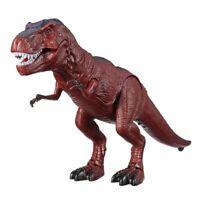 Juguete de Dinosaurio de Control Remoto Eléctrico Sonido Ligero Que Camina R 6Y8