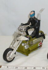 HASBRO SCREAM'N DEMONS GOLD MOTORCYCLE BATTERY TOY 1971