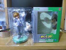 Kotobukiya Pokemon Artfx J Green with Eevee 1/8 Scale Genuine New Figure