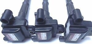 9091902212 Toyota 4Runner Tacoma Tundra T100 Ignition Coil 3.4L 5VZFE Pack of 3