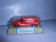 Vtg Ertl Pioneers Coca Cola Ford Delivery Van 1/64 Hong Kong Unopened Very Rare
