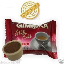 100 CAFFE' GIMOKA Capsule GRAN BAR Compatibile Espresso Point INTENSO LAVAZZA 36