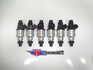 TRE Flowmatched 350cc Fuel Injectors Honda Acura NSX VTEC DOHC 355cc 33lb 35lb 6