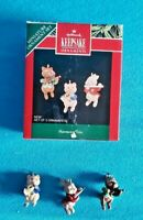 1992 Hallmark Keepsake Ornament Harmony Trio Set of 3 MIB with tag