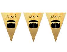 Umrah Mubarak Bunting Islamic Celebration Banner Flags Welcome Back Decoration 8