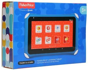 """NEW Nabi Fisher-Price Learning 7"""" Kids Tablet Android FGC64-9993 numbers 16GB"""