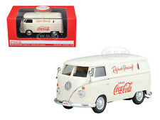"1962 VOLKSWAGEN ""COCA-COLA"" CARGO VAN CREAM 1/43 DIECAST MODEL BY MCC 430005"