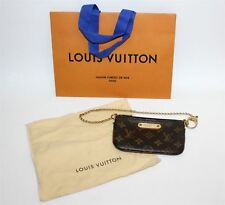 Louis Vuitton Damas Marrón recubierto de lona Bolso de correa de cadena de monograma Pouchette