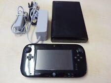 Nintendo Wii U - Model WUP-101(02) 32GB Deluxe Black  #E3