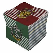 Official Harry Potter 'House' Bean Cube Bag Filled Chair Seat Bedding Gryffindor