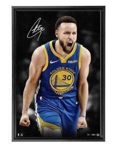 Stephen Curry Signed Autographed 20X30 Canvas Photo Up Close Warriors /30 UDA