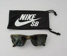 NEW Nike Womens Essential 58mm Tortoise Square Green Lens 100% UV Sunglasses