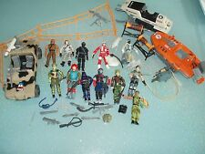 GI JOE GIJOE LOT VEHICULES & FIGURINES+accesoires