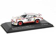 PORSCHE 911 Carrera RSR 8ème Le Mans MINICHAMPS 430 736945 1:43 nouveau modèle métalliques
