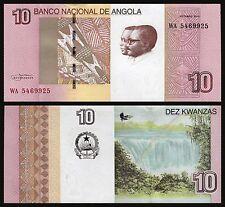 Angola  10 Kwanzas  10-2012  Pick New   SC = UNC