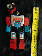 Vintage G1 Transformers 1985 Targetmaster Perceptor Action Figure WORKING!