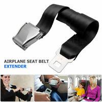 Adjustable Airplane Seat Belt Extension Extender Airline Buckle Aircraft AU Safe
