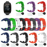 Sport Soft Silicone Watch Band Replacement Band Strap For For Polars M400 M430
