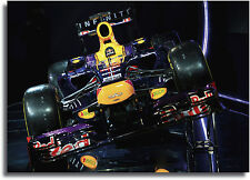 Redbull F1 Car Giant Framed CANVAS PRINT - A0 A1 A2 A3 A4 Sizes
