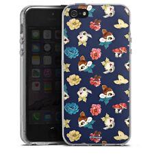 Apple iPhone 5 Silikon Hülle Case - Cute Bambi Pattern