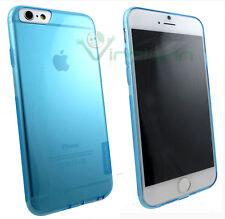 Custodia Nillkin Nature 0.6mm azzurro trasparente per iPhone 6 6S cover sottile