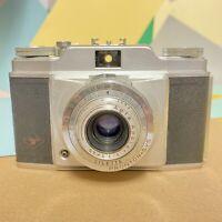 Cla'd Agfa Silette Prontor Svs 35mm Film Camera, Film Tested Lomo Vintage