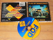 FLAG OF DEMOCRACY-Hate Rock/GERMANY-CD 1994